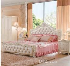 Exceptional Leder Schlafzimmermöbel Schlafzimmer Rosa Farbe Mit Massivholz ...