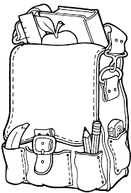 Small Picture Backpack Coloring Pages GetColoringPagescom