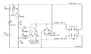 voltage regulator wiring diagram motorcycle voltage single phase voltage regulator full wave techy at day blogger on voltage regulator wiring diagram motorcycle