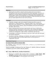 Resume Cpg_fmcg Market Research_data Analyst