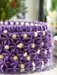 Brazo de mercedes is a type of jelly roll dessert made with a pillowy meringue rolled around a rich custard filling. Ube Cake Filipino Purple Yam Cake The Unlikely Baker