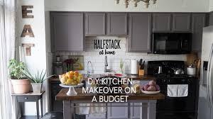 Halfstack At Home Simple Diy Kitchen Remodel On A Budget Under 600