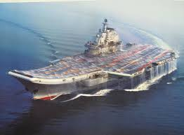ins china ins vikramaditya aircraft carriers cleaning system