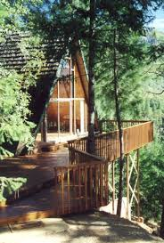 A Perfectly Wild Perfectly Simple Mountain Cabin Retreat In Treehouse Vacation California