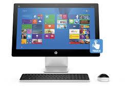 hp all in one touchscreen desktop