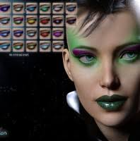 extreme closeup high fashion makeup for genesis 3 female s in vendor