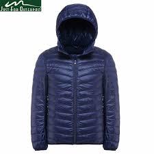 2019 New Casual Brand <b>White Duck Down Jacket</b> Men Autumn ...