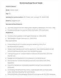 Resume Sample For Production Manager Best of Print Production Manager Sample Resume For Production Manager