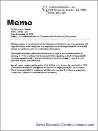 Sample Company Memorandum Announcement Memo About Introducing Company Policy Changes