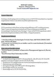 Sap Fico Resume Sample Best of Sap Fico Resume Sample Rioferdinandsco