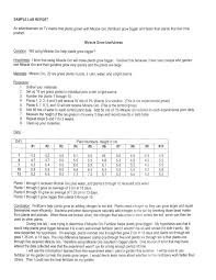 Sample Lab Report writingscientificlabreports grahamscience 1