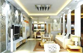 living room lighting ideas apartment black wooden table lamp beige pattens ceilling round white wooden laminate