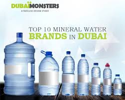 Top 10 Mineral Water Brands In Dubai