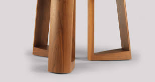 liund round dining tables feature solid timber construction with mortise and tenon joinery the is offered in three standard models