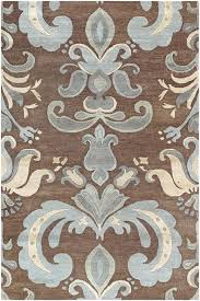 blue and brown area rug rugs direct studio brown blue area rugs zella blue brown area