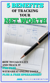 Calculate Your Net Worth Why Do It And How To Track It For Free