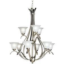 kk2520ni dover large foyer chandelier chandelier brushed nickel at fergusonshowrooms com