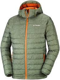 Columbia Omni Heat Light Jacket Columbia Powder Lite Hooded Jacket Peatmoss Heather