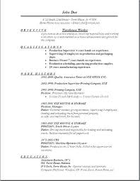Proper Format For A Resume Classy Easy Resume Sample Format Simple Free Template