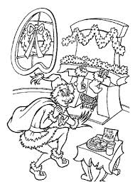 the grinch who stole christmas coloring pages. Grinch Stole Christmas Coloring Page Nexus Kids Throughout The Who Pages