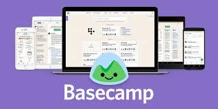 Online Group Task Manager Basecamp Project Management Team Communication Software