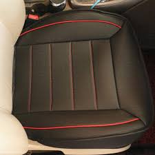 universal breathable leather car seat cover anti skid auto seat cushions protector pad car interior accessories whole auto leather seat covers auto seat