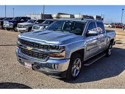Silver Ice Metallic Chevrolet Silverado 1500 in Odessa, TX - 3GCPCREC2JG261060