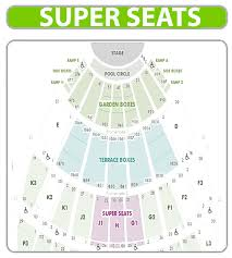 Hollywood Seating Chart Hollywood Bowl Seating Chart Super Seats Www