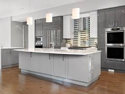 Dark Gray Kitchen Cabinets Tan Grey Kitchen Cabinet Paint Color With Silver Setting And
