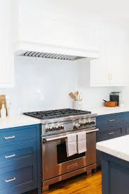 gas stove top cabinet. White Top Cabinets Navy Base Gas Stove Cabinet