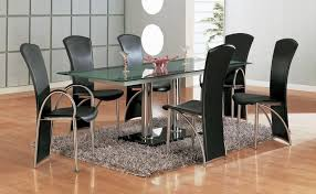 nice modern dining table sets and glass dining table sets india u003cu003c previous glass top