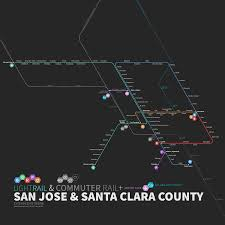 San Jose Light Rail Map