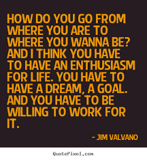 Jim Valvano Quotes New How Do You Go From Where You Are To Where You Wanna Be Jimmy V