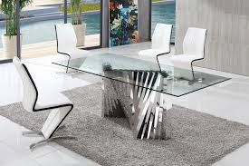 dining table and chairs glass dining table modenza furniture inside dining room sets uk