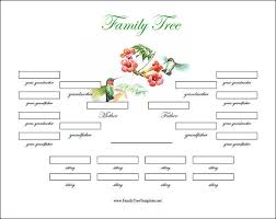 free family tree template word free editable family tree template editable family tree templates