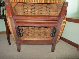 antique platform rocking chair with springs design ideasn upholstered oval back