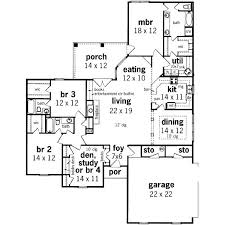 Shining Design 1 2 Story House Plans 2200 Square Feet 3 Bedrooms 1 2200 Sq Ft House Plans