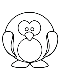 baby penguin coloring pages. Delighful Baby Cute Penguin Coloring Pages Baby Penguins 321  321 With