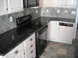 Granite Tiles For Kitchen Kitchendaltile Granite Uba Tuba On White Cabinets With Roman