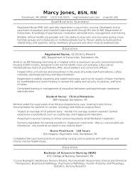 Entry Level Registered Nurse Resume – Cuspdata.co