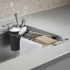 Kitchen Drying Rack For Sink Kitchen Refresh Undersink Container Stories