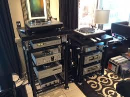audio equipment rack. On A Higher Note Equipment CES 2016 Audio Rack