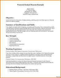 Entry Level Finance Resume Samples Awesome Sample Financialst Resume ...