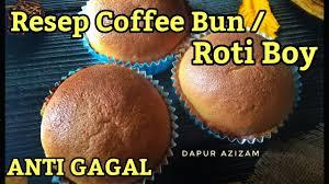 Lihat ide lainnya tentang resep roti, roti, resep. Resep Coffee Bun Roti Boy Anti Gagal Youtube