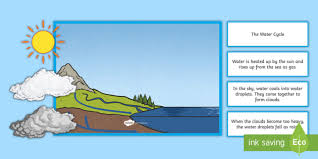Water Cycle Anchor Chart Pack Teacher Made