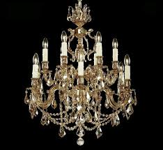 rosetta collection 5 5 large brass crystal chandelier