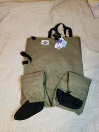 White River Waders Size Chart White River Fly Shop Classic Stocking Foot Chest Waders Men S Medium Nwt