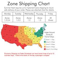 Fedex Zone Chart Systematic Fedex Canada Zone Chart 2019