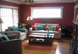 paint colors that go with redSpicy Dark Red Wall Color in a Mediterranean Room Color Scheme