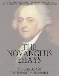 the novanglus essays by john adams